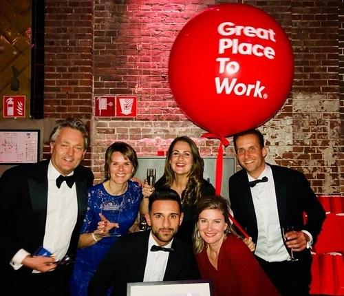 Actief Werkt! Uitzendbureau behaalt tweede plek op lijst van Best Workplaces 2018
