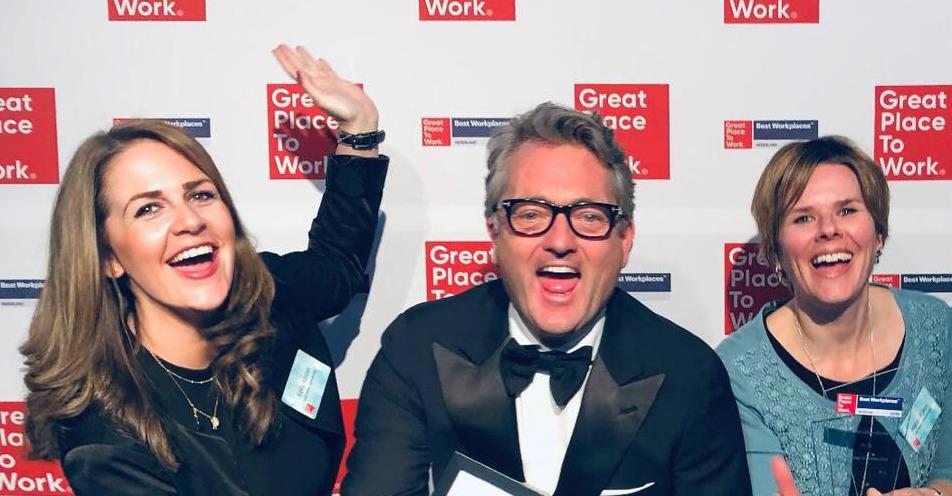 Actief Werkt! Uitzendbureau voor het tweede jaar op rij in top drie van Best Workplaces 2019