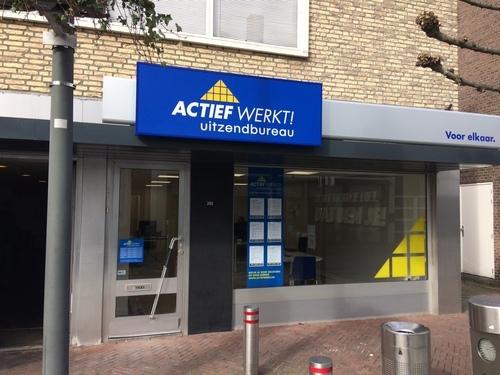 Uitzendbureau Actief Werkt! opent vestiging in Waalwijk