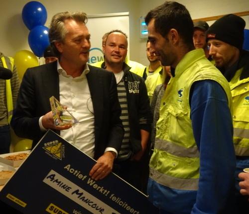 Amine Manour Billah wint landelijke flexkracht verkiezing 2017